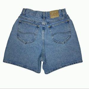 Vintage Highwaisted 90s Mom Lee Jean Short Size 10